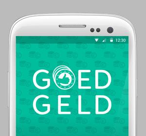 <span>Goed Geld app design</span><i>→</i>